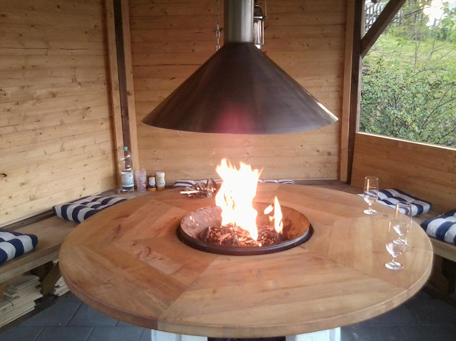 toom kreativwerkstatt grillpavillon. Black Bedroom Furniture Sets. Home Design Ideas