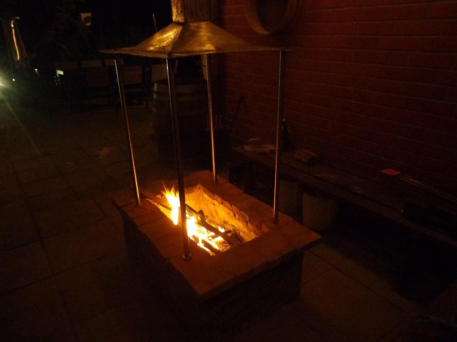 toom kreativwerkstatt urige grill feuerstelle. Black Bedroom Furniture Sets. Home Design Ideas
