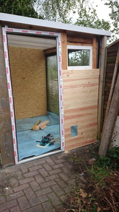 toom kreativwerkstatt umbau vom gew chshaus in ein katzenhaus. Black Bedroom Furniture Sets. Home Design Ideas